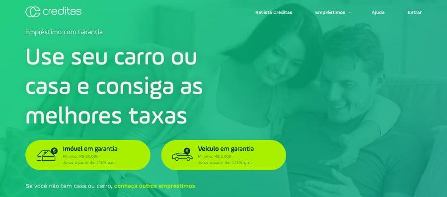 sites de empréstimos - creditas.com.br