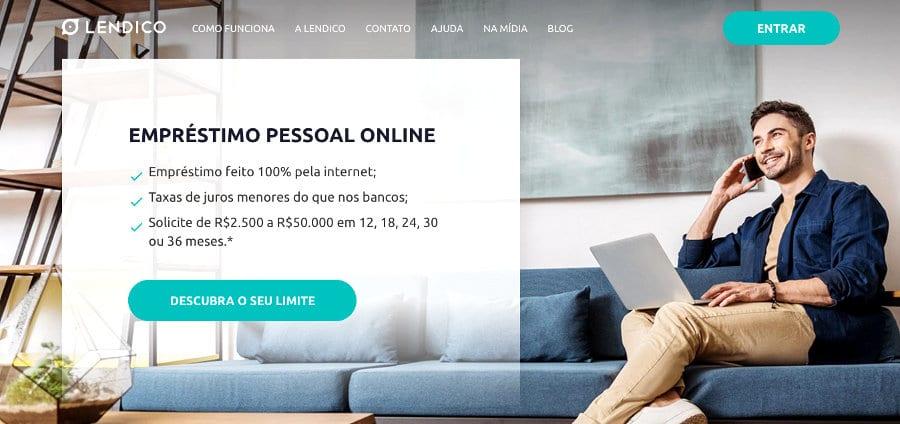 sites de empréstimos - lendico.com.br