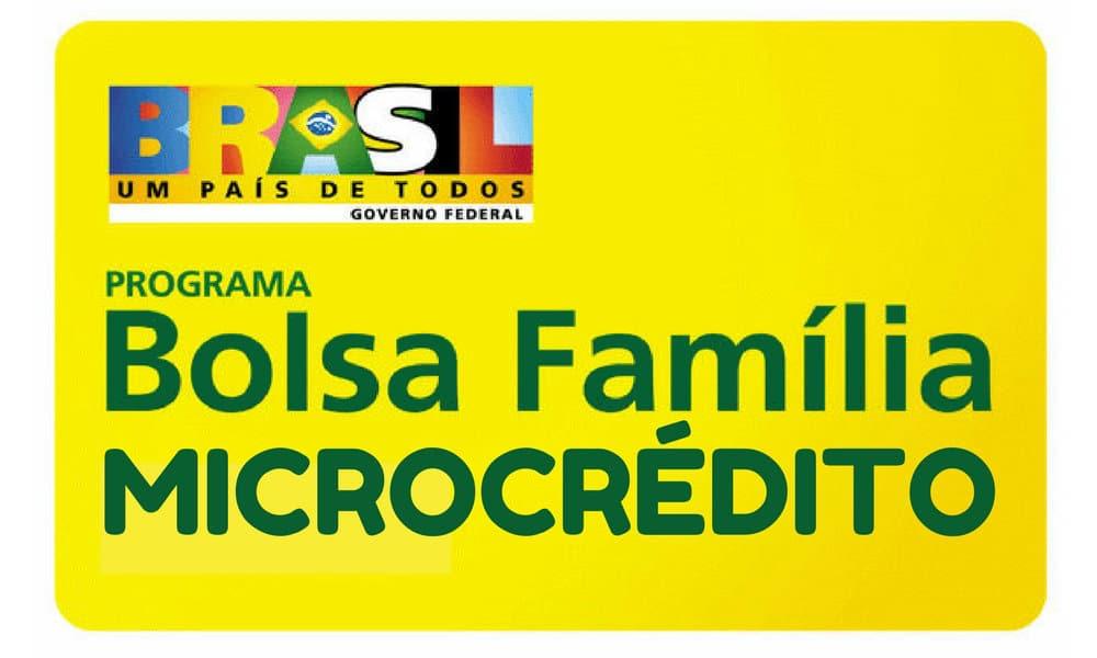 Microcrédito do Bolsa Família - Programa Progredir