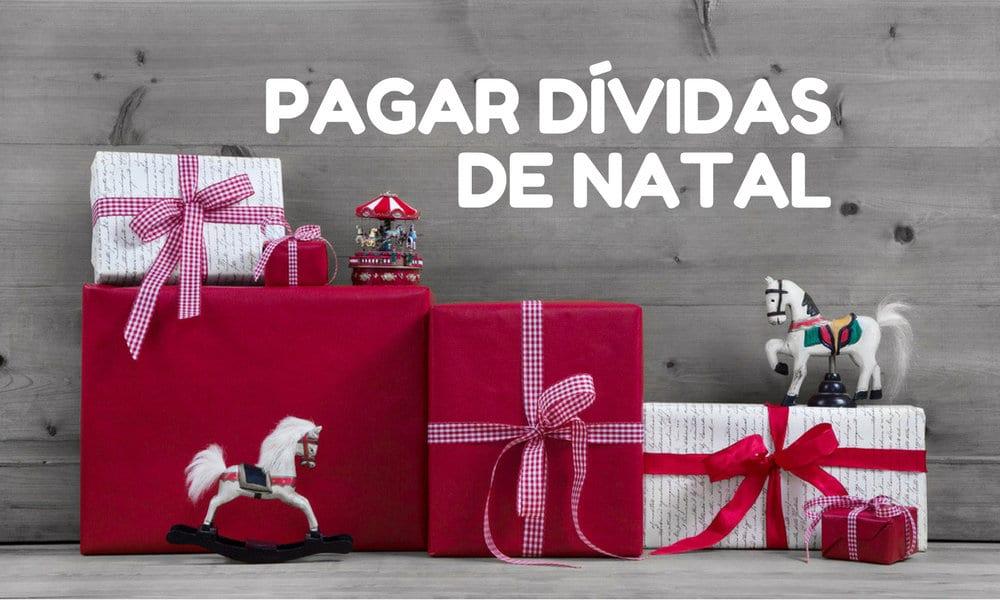 Pagar as dividas de Natal e Ano Novo