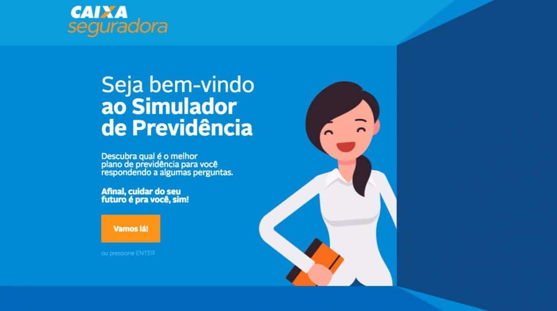 Simulador de Previdência Privada Caixa