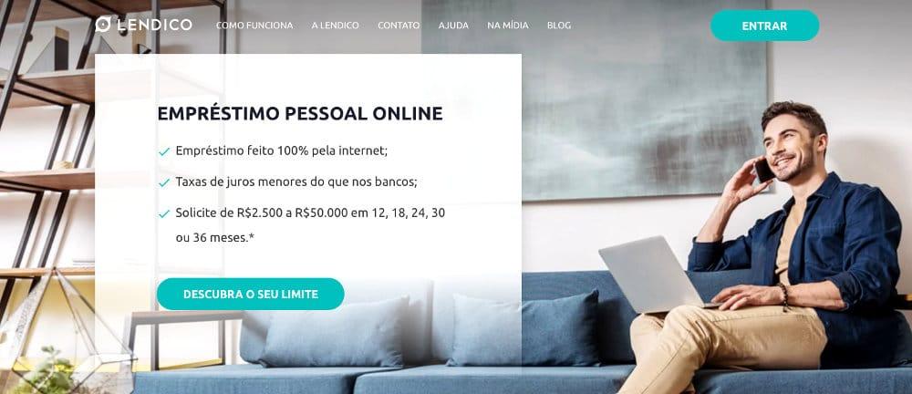 Site Lendico é confiável e seguro para empréstimos