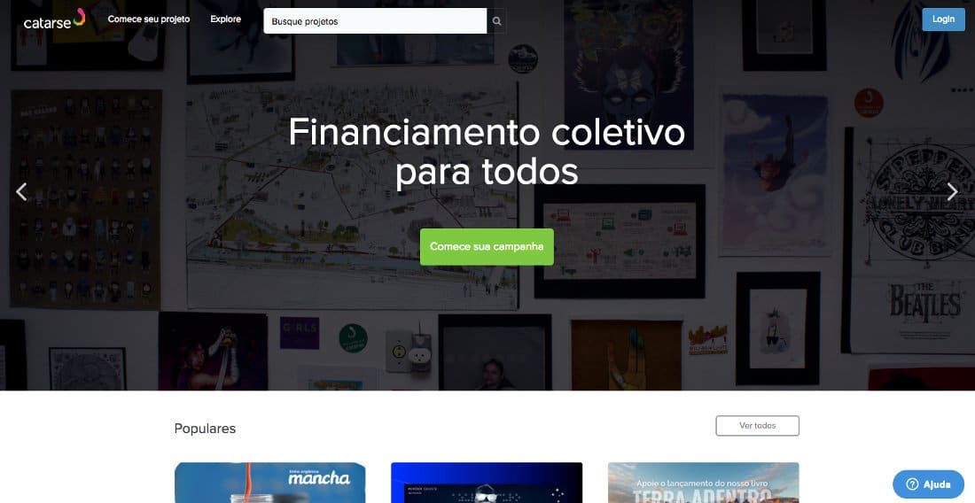 Catarse crowdfunding e financiamento coletivo