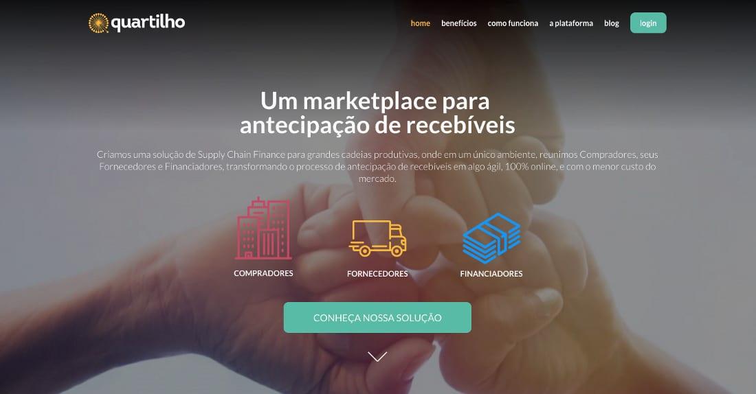 Quartilho - marketplace para antecipação de recebíveis