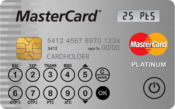mastercard display cards