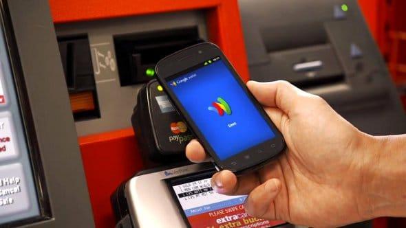 Pagamento com Cartão de Crédito usando o SmartPhones com NFC